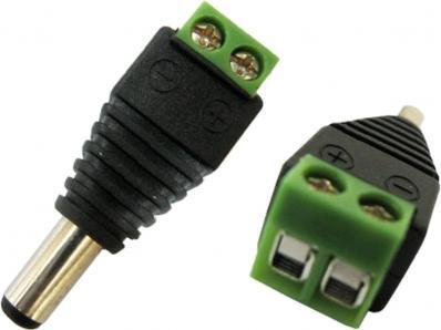 Connecteur d'alimentation male 2,1mm