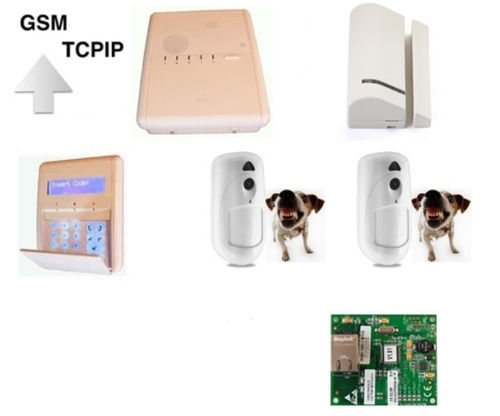 Kit Agility V5 IP GSM 2 PIRCAM 1 Contact