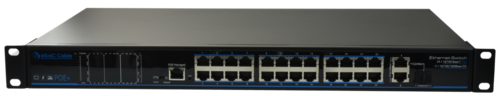 Switch manageable POE 370W 24 Ports 100Mb/POE+ 2 1Gb & 1 SFP S42424-B0