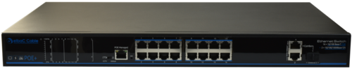 Switch manageable 250W- 16x100Mb POE + 2xGb + 1 SFP S41624-B0